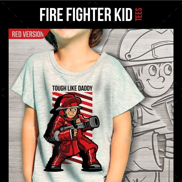 Fire Fighter Kid