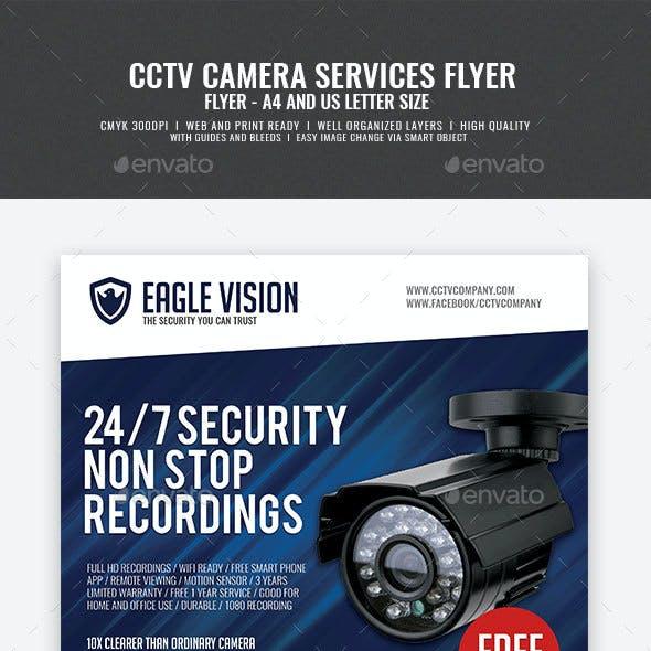 CCTV Surveillance Camera Shop Flyer