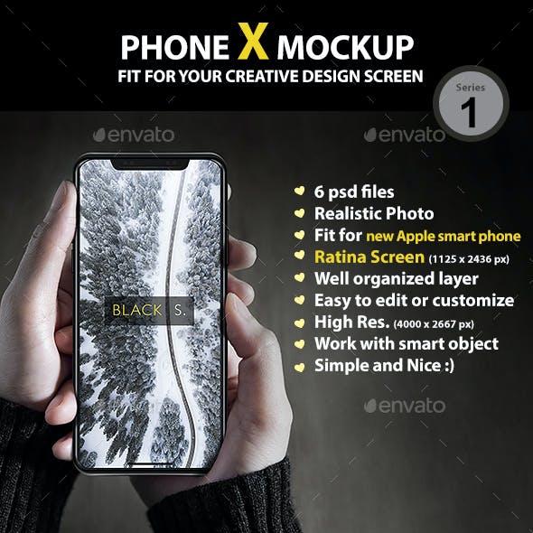 PhoneX Mockup Series1