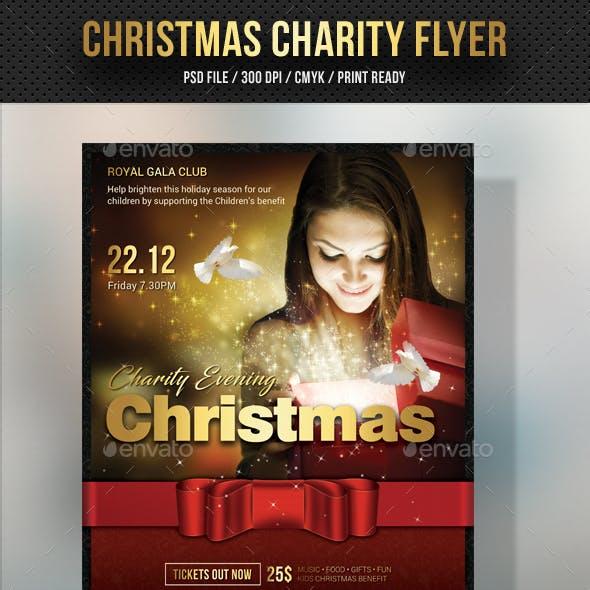 Christmas Charity Flyer