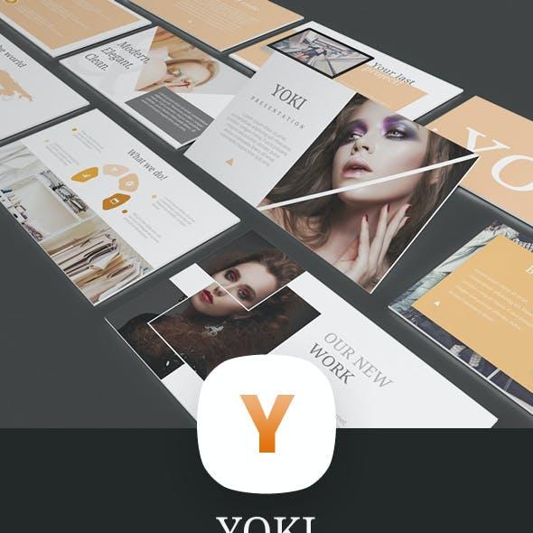 YOKI - PowerPoint Presentation Template