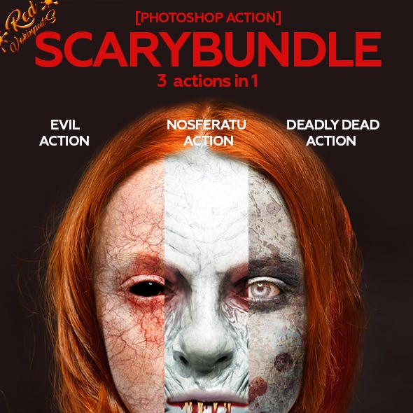 Scary Bundle Photoshop Action