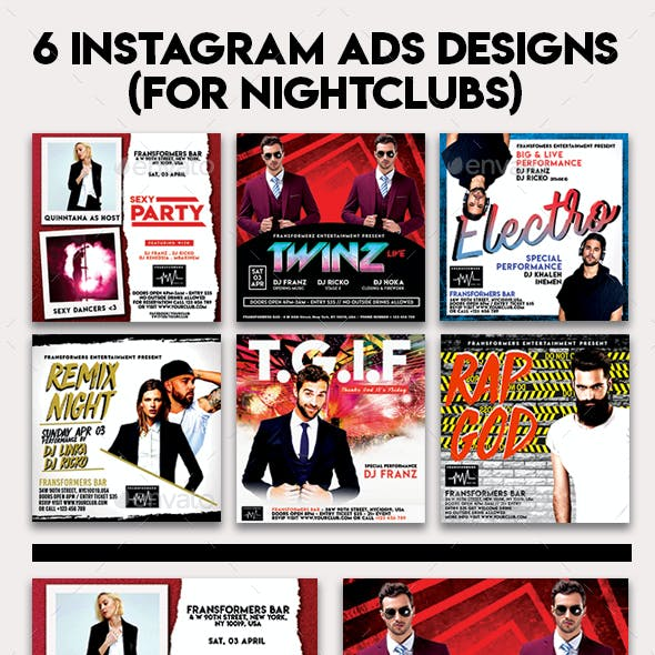 Instagram Banner Events