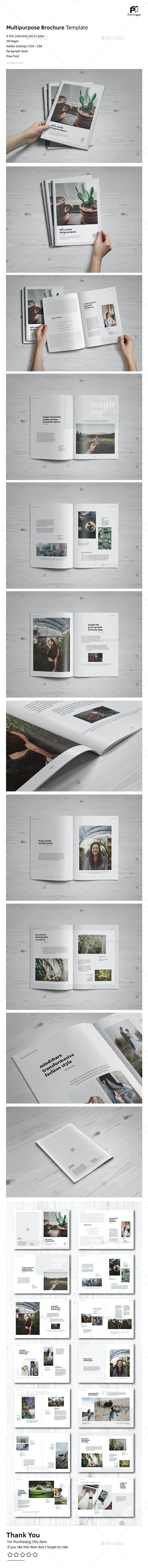Simple Multipurpose Portfolio Vol.4 - Portfolio Brochures
