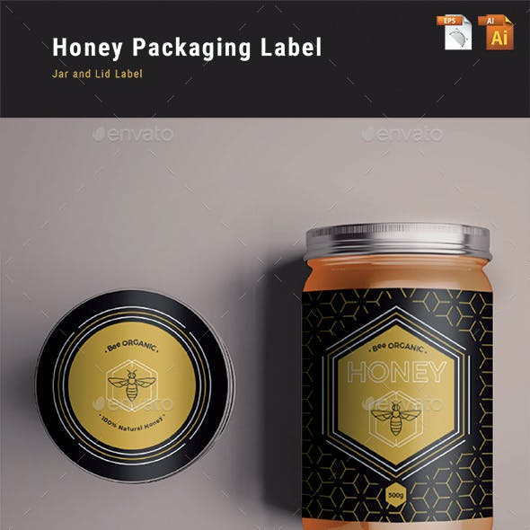 Honey Packaging Label