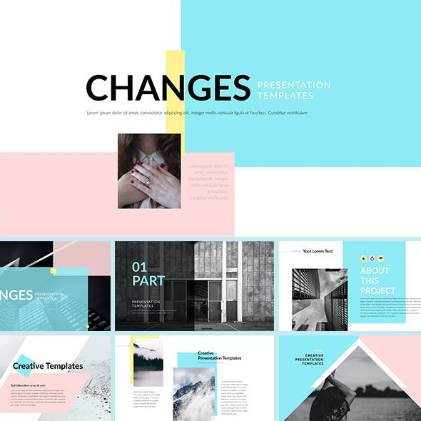 Changes - Keynote Presentation Template