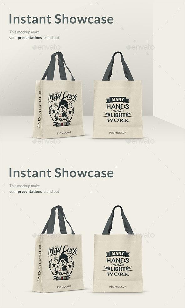 Shopping Bag Mockup - Product Mock-Ups Graphics