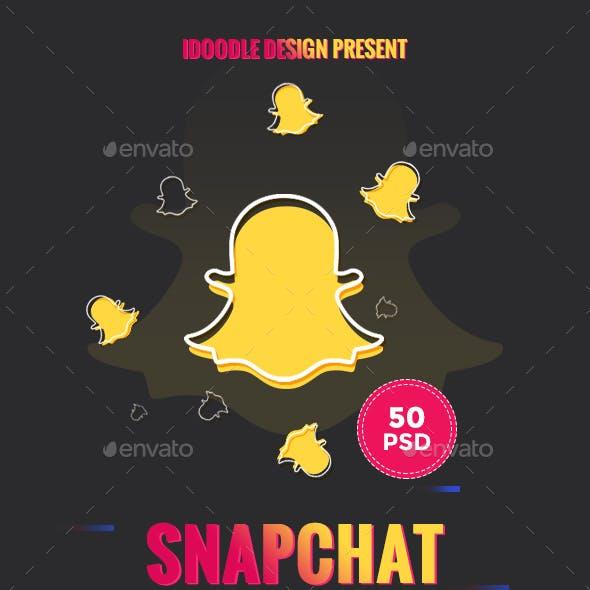 Bundle Promotion Geofilters Snapchat - 50 PSD