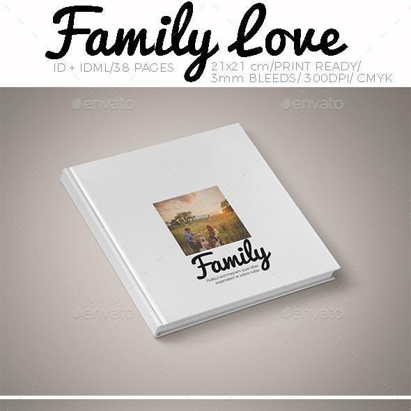 Family Love Photo Album