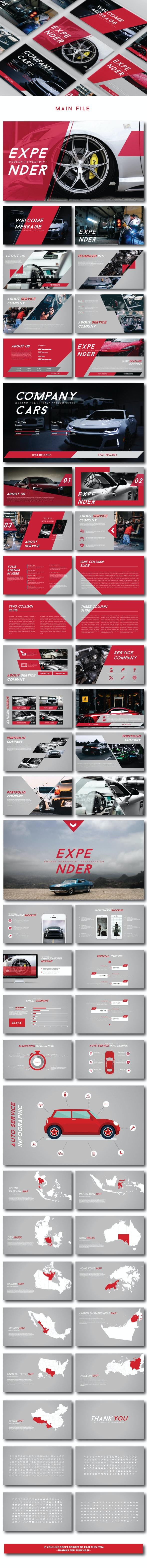 Expender Modern PPTX - Creative PowerPoint Templates
