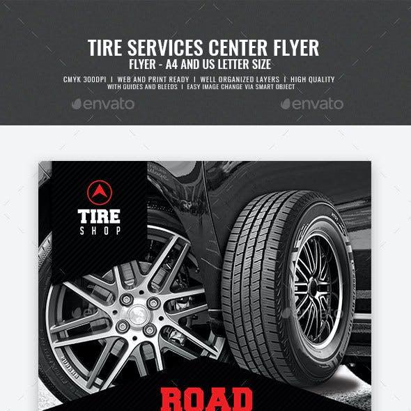Tire Shop Flyer