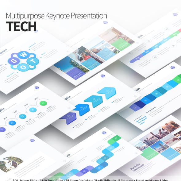 Tech - Multipurpose Keynote Presentation