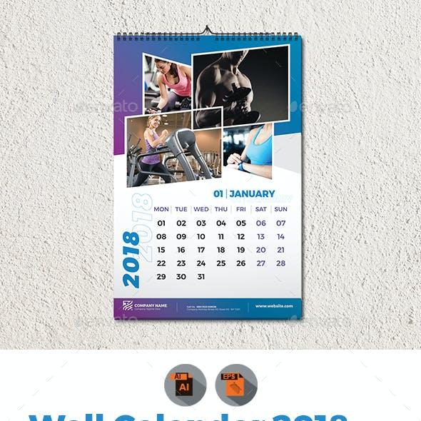 gym calendar template.html