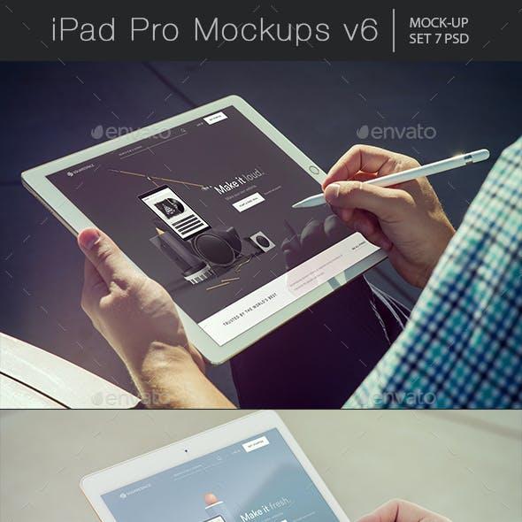 Pad Pro Mockups v6
