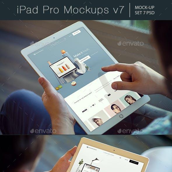 Pad Pro Mockups v7
