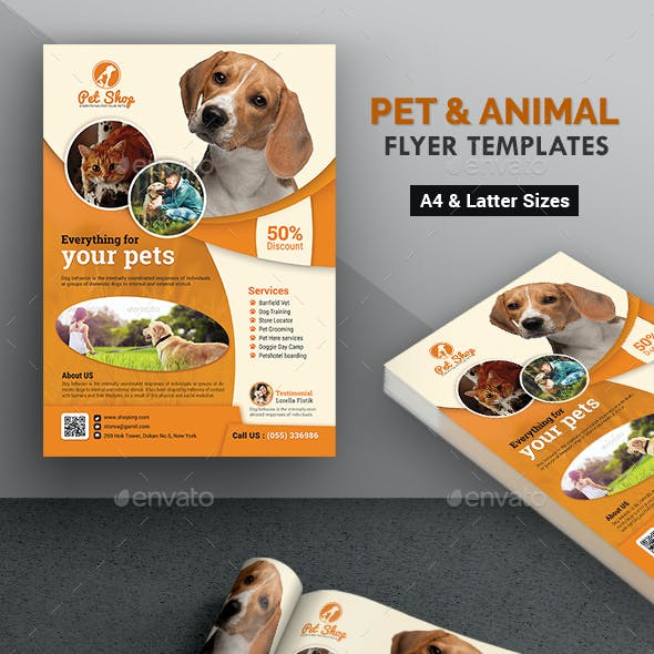 Pet Flyer | Animal Flyer Templates