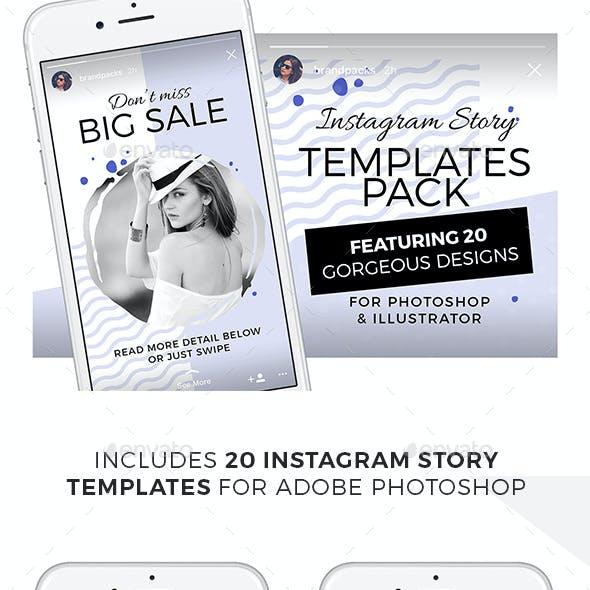 Instagram Stories Templates Pack
