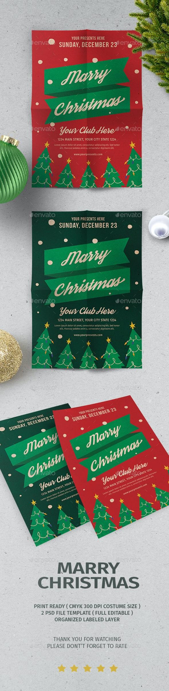 Christmas Flyer Vol.5 - Events Flyers