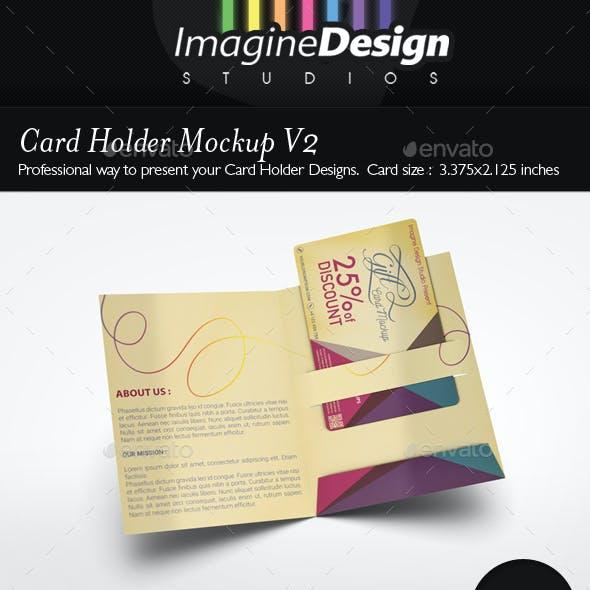 Card Holder Mockup V2