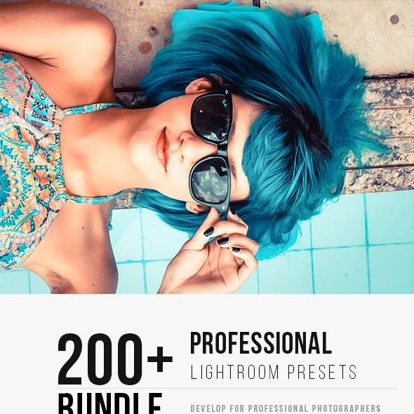 200+ Professional Lightroom Bundle