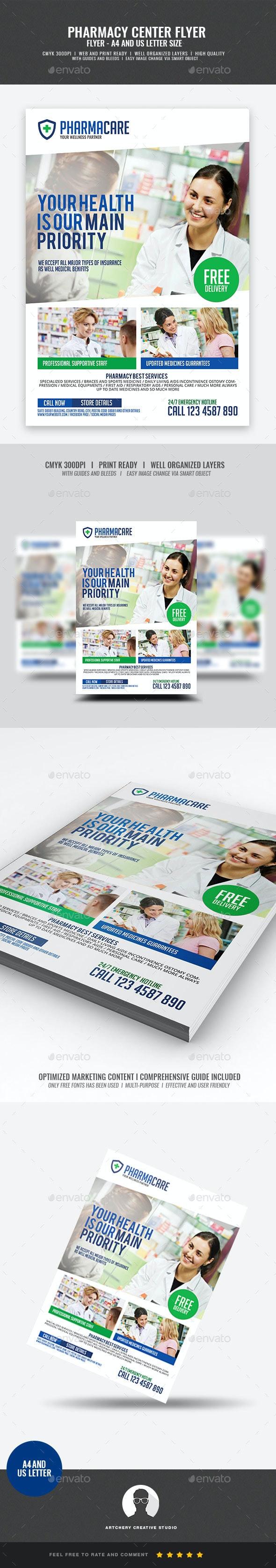 Pharmacy Company Flyer - Corporate Flyers