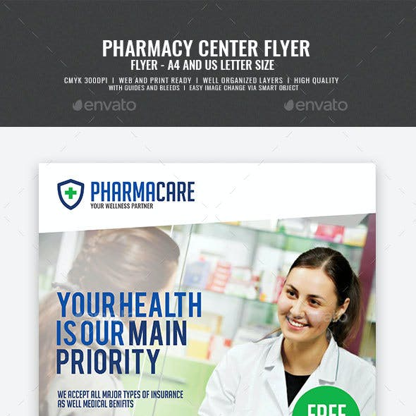 Pharmacy Company Flyer