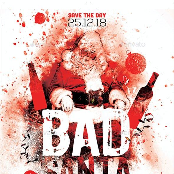 Bad Santa Poster / Flyer