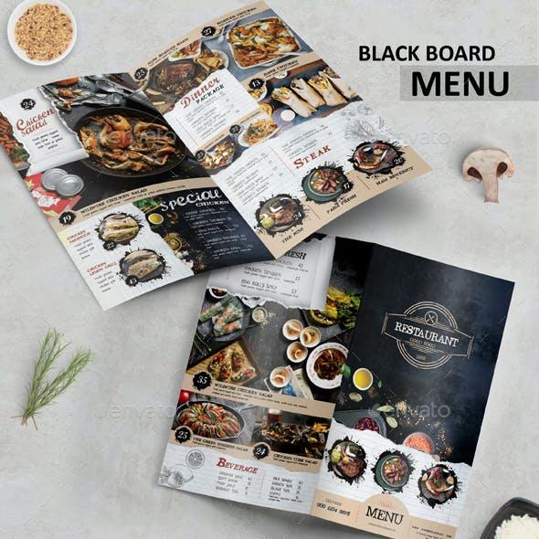 Black Board Menu