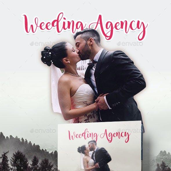 Wedding Square Tri-fold  Brochure