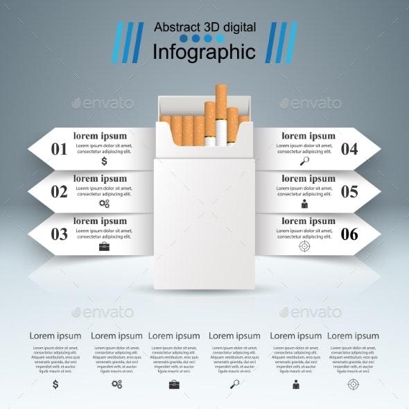 Harmful Cigarettes - Miscellaneous Vectors