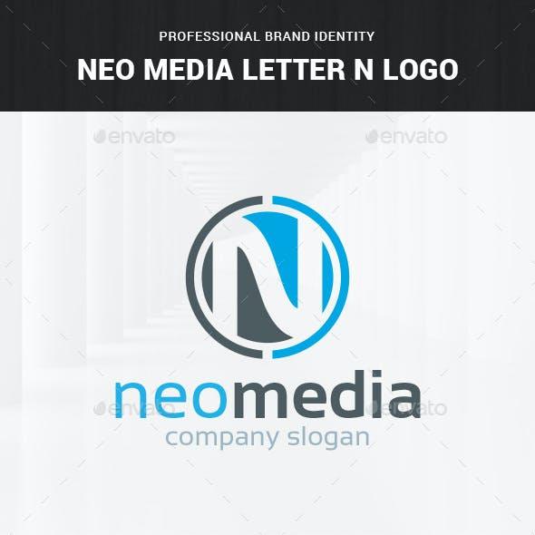Neo Media - Letter N Logo