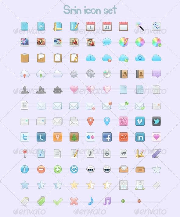 105 Web Icons - Web Icons