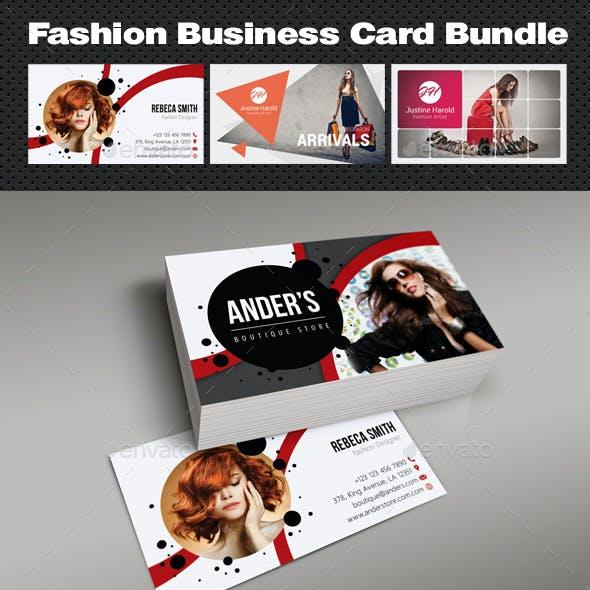 Fashion Business Card Bundle