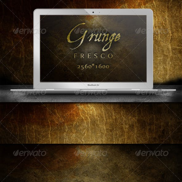Grunge Fresco Backgrounds - Atmospheric Decay