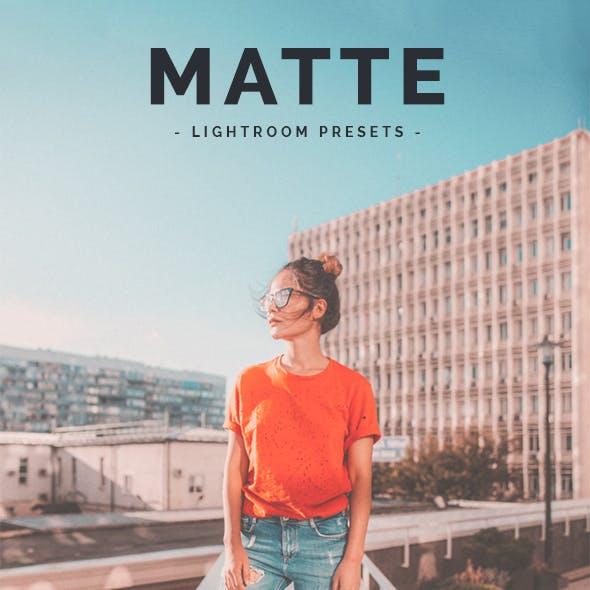 30 Matte Lightroom Presets