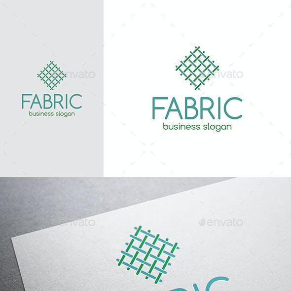 Fabric Canvas Linien Logo