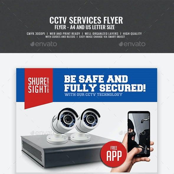 CCTV Promotional Flyer
