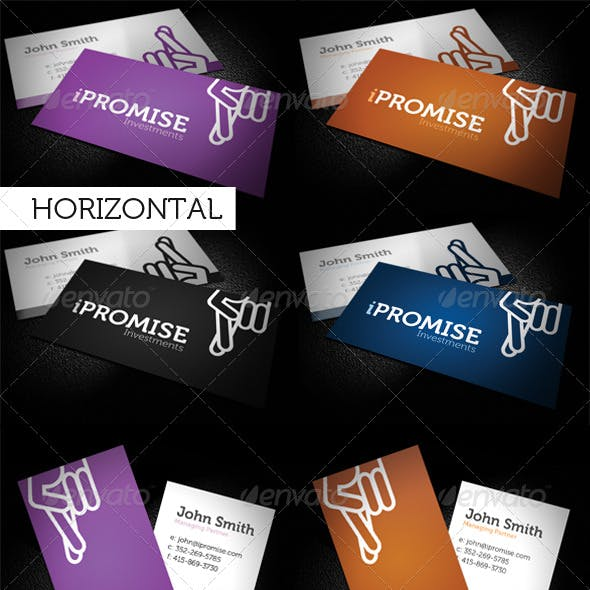 iPromise Modern Business Card