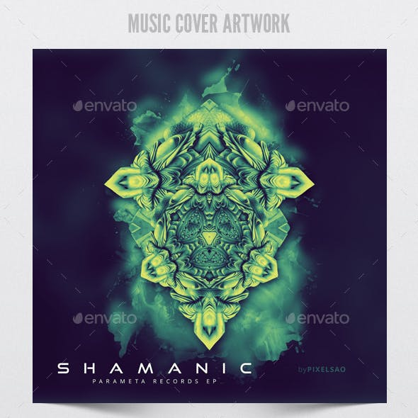 Shamanic - Music Album Cover Artwork Template
