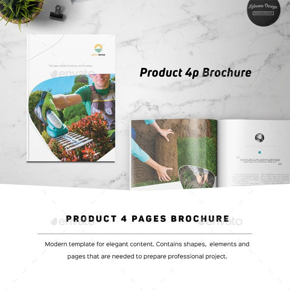 Product 4p Brochure