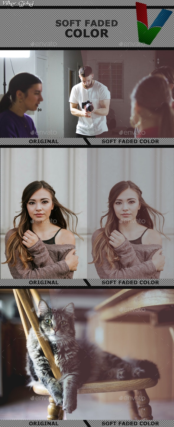 Soft Faded Color