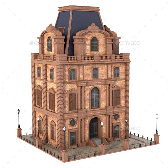 Small Classic Building