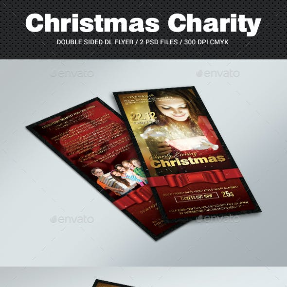 DL Christmas Charity Flyer