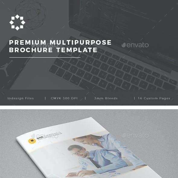 Multipurpose Corporate Brochure Template Vol. 03