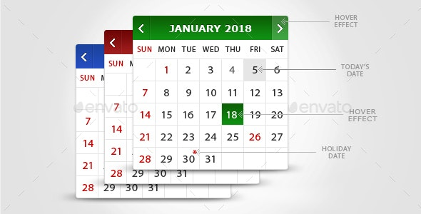 Calendar - Miscellaneous Graphics