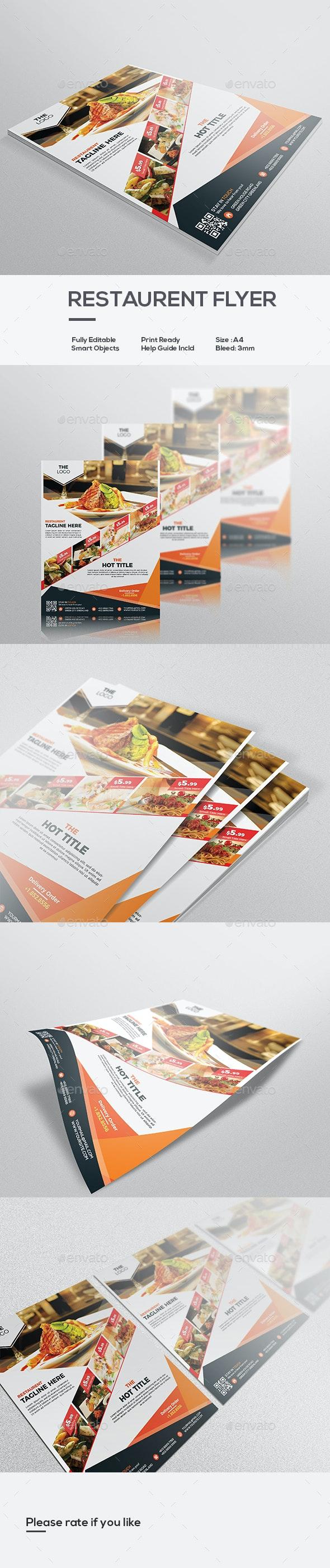 Restaurant Flyer - Restaurant Flyers