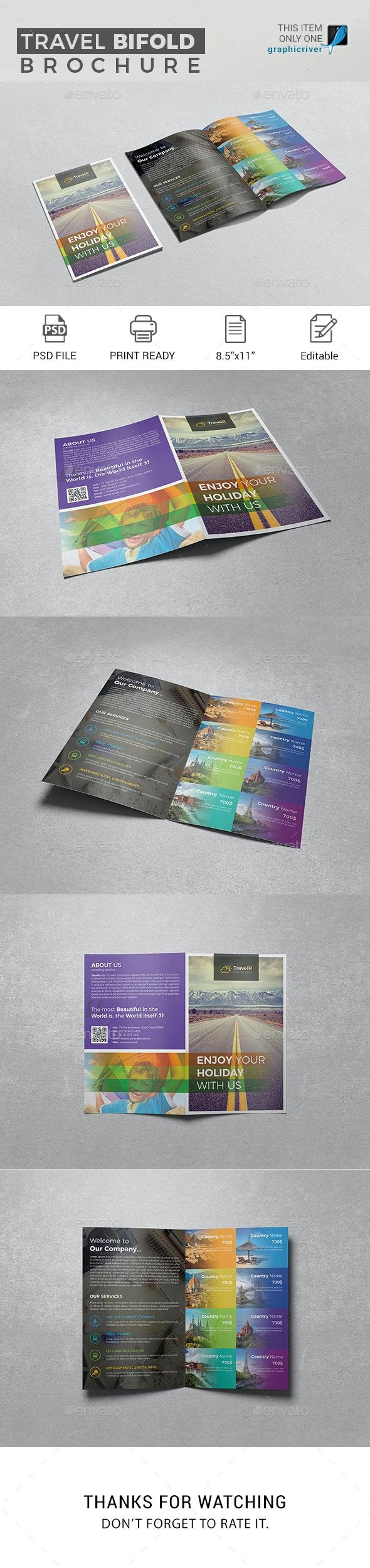 Travel Bifold Brochure - Corporate Brochures