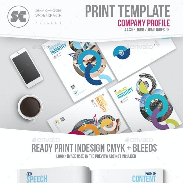 Donut Portfolio Stationery and Design Template
