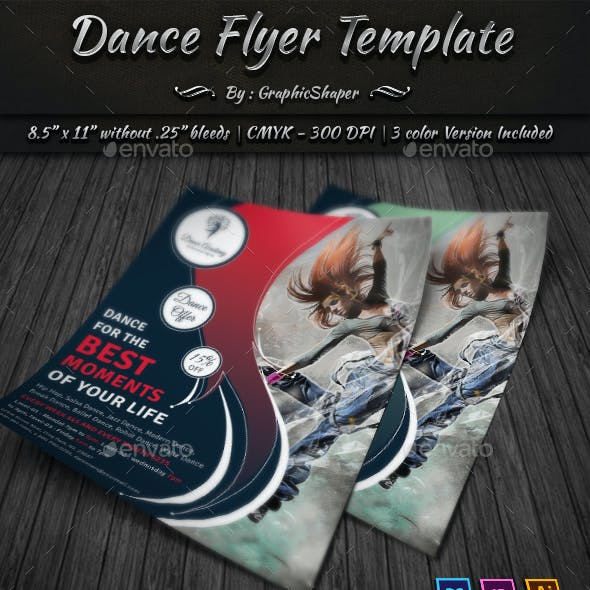 Dance Flyer Template