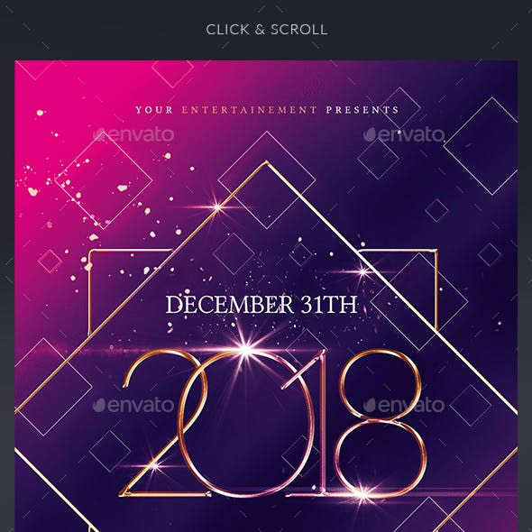 New Year Party - Invitation